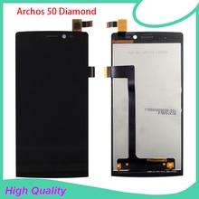 Для Archos 50 Алмазный ЖК-дисплей сенсорный экран сборка для Archos 50 Алмазный экран lcd Бесплатные инструменты