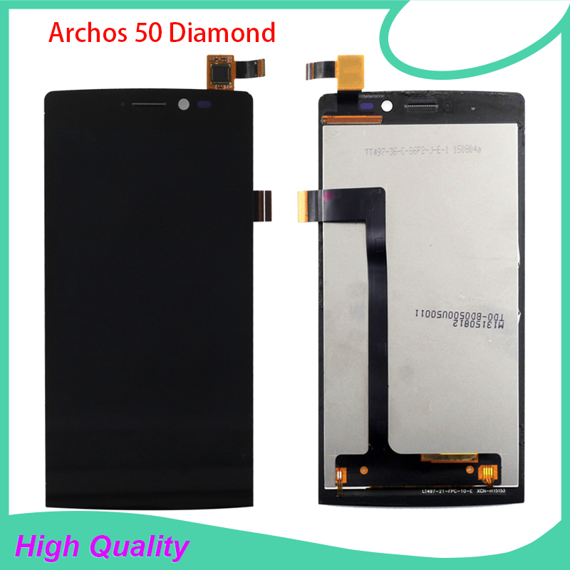 ФОТО Full original Quality replacement for Archos 50 Diamond LCD display touch screen assembly With Frame Free Tools