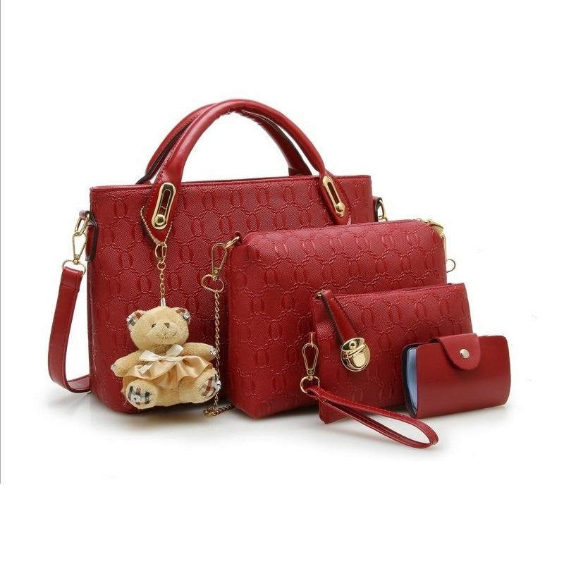 ახალი მოდის Crocodile Handbags PU - ჩანთები - ფოტო 6
