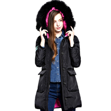 Women Coat Duck Down Jacket Fur Coat the brand new star within the lengthy girls lengthy coat parkas thickening Female Warm Clothes High Quality