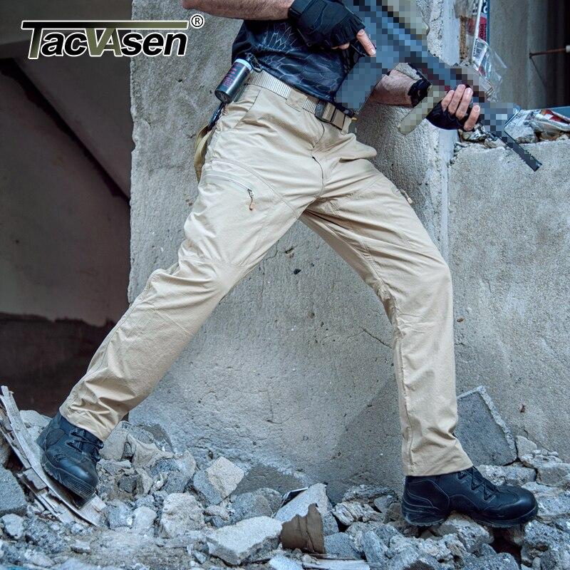 Táctica Verano Impermeable 046 Los army Rápido Carga Ropa Hombres ycxl De Militar Paintball khaki Green Td Pantalones Tacvasen Black Secado YXq4tt
