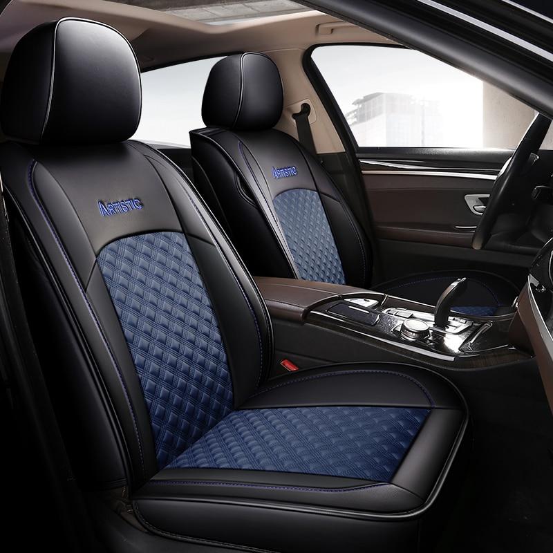 Housse de siège de voiture sièges de véhicule étui en cuir pour mercedes benz classe S w140 w221 classe C W202 T202 W203 T203 W204 W205 c200