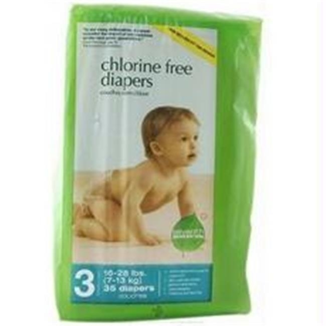 Seventh Generation B07100 Seventh Generation Baby Free Clear Diapers Stage 3: 16-28 Lbs -4x31ct seventh generation nat paper towels 120 cnt 120 count