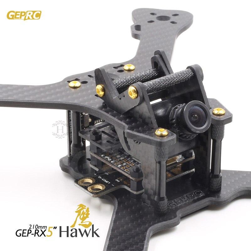 DIY FPV mini drone GEPRC GEP RX5 HAWK 210mm quadcopter 3 Karat reine ...