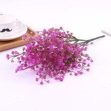 Искусственные цветы, весенние украшения, свадебные, свадебные, пластиковые, искусственные цветы, букет, домашний декор стола в комнате, сделай сам, фото реквизит 52817