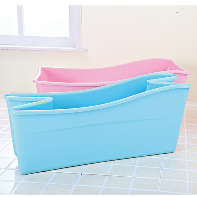 PP+TPE Children folding bath tub baby bathtub Safety material 77.5 ...