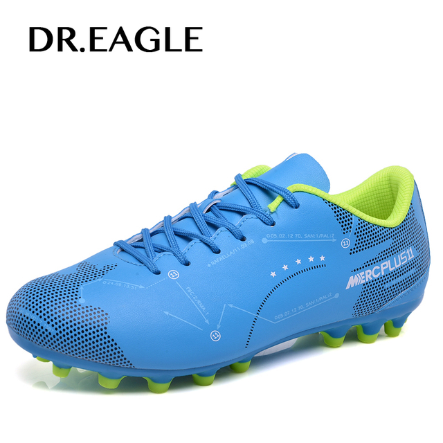 DREAGLE outdoor superfly football shoes kids man sport football boots  futzalki for soccer shoes cleats boy CHILDREN size 31-44 beed5db0f63
