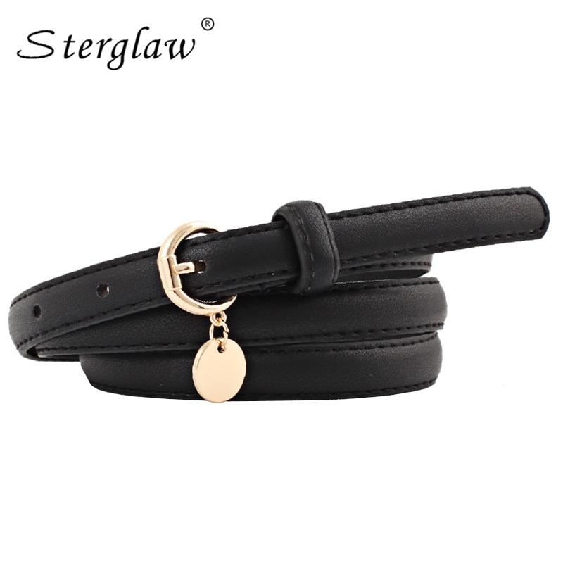 New Student Women's Belt For Dresses Modeling Belt 2020 Casual White Tasselsbelts And Straps Female Thin Belt Cinture Femme N118