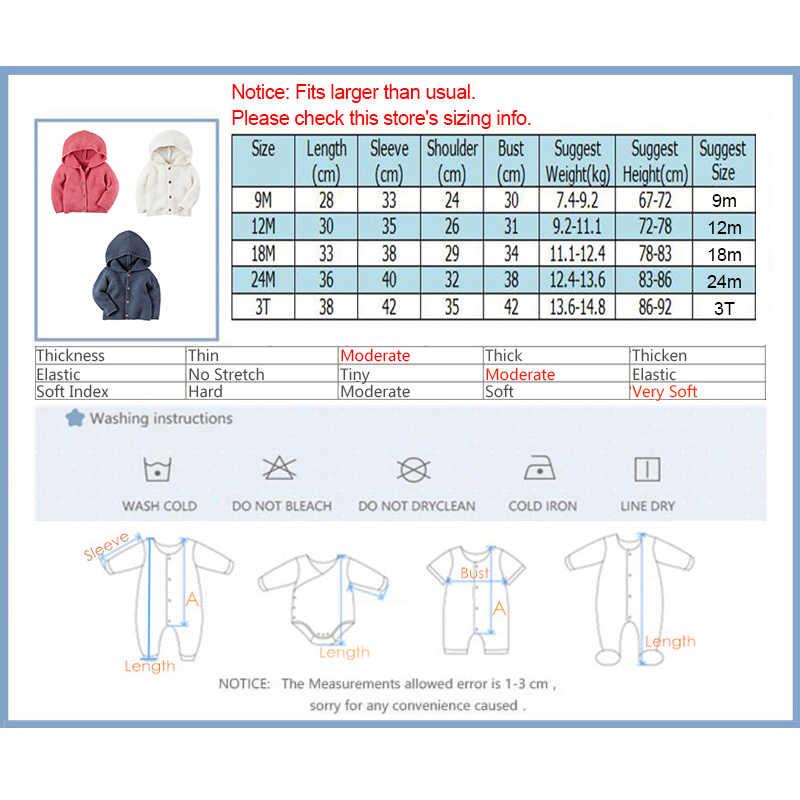 신생아 스웨터 코트 유아 소년 소녀 카디건 까마귀 가을 겨울 새로운 태어난 코트 옷 따뜻한 뜨개질 아기 자켓 비비