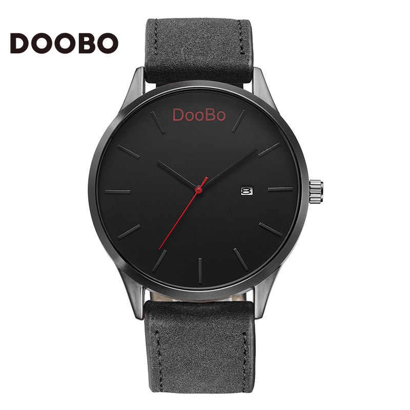 DOOBO часы мужские часы Топ бренд класса люкс Календарь Бизнес Мужские часы Часы erkek kol saati relogio masculino