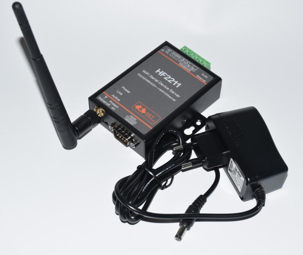 LPSECURITY l'automatisation Industrielle Modbus Série RS232/RS485/RS422 pour WiFi/Ethernet Converter server module HF2211