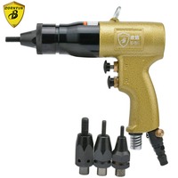 Borntun Pneumatic Nut Riveter Pulling Nuts M5 M6 M8 M10 Pneumatic Air Industrial Nut Rivet Puller Pliers Gun Rivet Riveting Tool