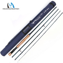 Maximumcatch 9wt 9 Ft 4 pcs Fly Rod with Carbon tube Graphite IM10 Fly Fishing Rod