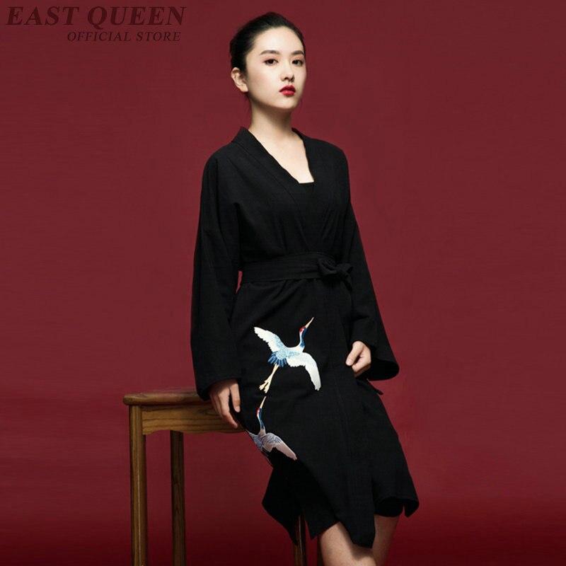Robe asiatique robe japonaise kimono geisha kimono japonais traditionnel yukata femmes haori obi japon vêtements AA3840 Y A