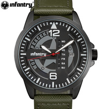 Армейские часы для мужчин, тактические, полицейские, кварцевые наручные часы для мужчин, s часы, Лидирующий бренд, Роскошные, армейские, зеленые, кожаные, Relogio Masculino