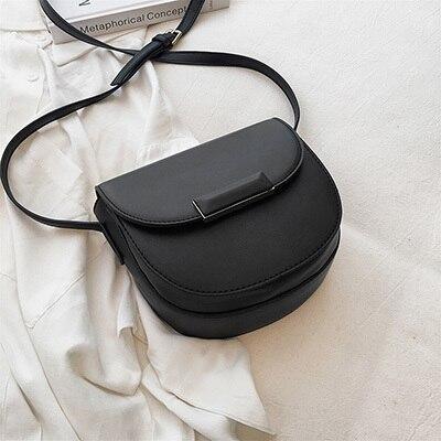 Mini Saddle Bag PU Leather...