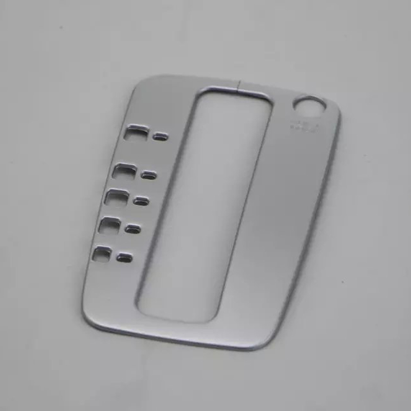 Car-styling Partner box ABS car chrome Automobile gear box cover For car For Nissan For Sylphy/Sentra 2016 car-styling