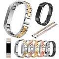 КЛАУДИЯ Ремешки 2016 Горячие Продажа Высококачественной Нержавеющей Стали Ремень Металл Застежка Для Fitbit Альта Smart Watch Высокое Качество