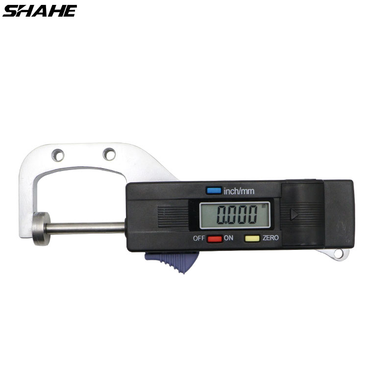 Portable 0-25 mm Jewel Gem Gemstone Thickness Gauge with 0.01 mm Diamond Measure Thickness Tool fgx 203p spectral optical wedge dimensions 50 8 thickness 3 0 15 mm