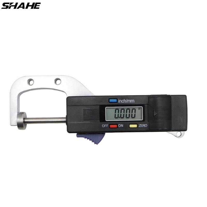 Jauge d/épaisseur bo/îtier en plastique 0-10 mm Indicateur de test de cadran d/épaisseur 0,01 mm Outil de mesure de jauge d/échelle de cadran pour la mesure de pr/écision d/épaisseur de cuir de bois