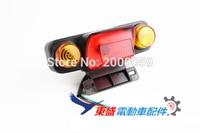 12V 24V 36V 48V 60V Tail Light Turn Signal Rear Lamp Brake Light Ebike Scooter Moped
