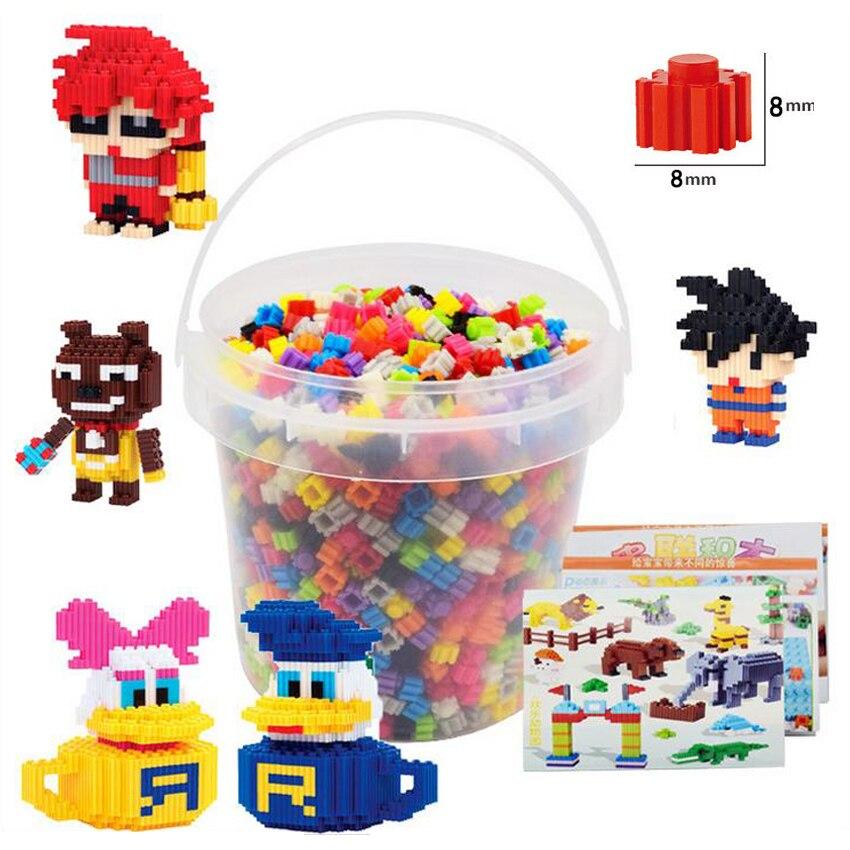 DOLLRYGA jouet enfant 3550 pièces Mini bloc brique enfants jouet pour enfants chiffres diamant blocs de construction assemblage briques éducatives