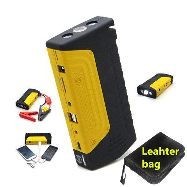 2017 Mini Car Jump Starter Pack Portable Starter font b Power b font Bank 12V Emergency
