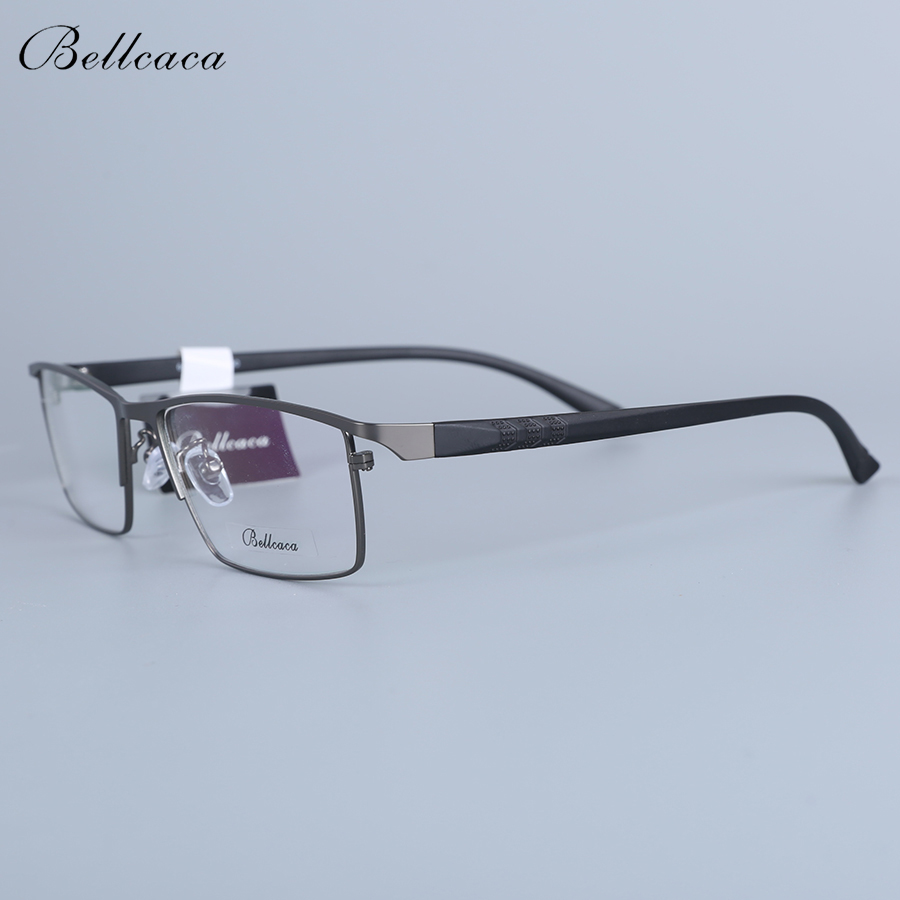 Bellcaca Men Spectacle Frame Eyeglasses Computer Optical Prescription Myopia Eye Clear Lens Glasses Frame For Male Eyewear 6605