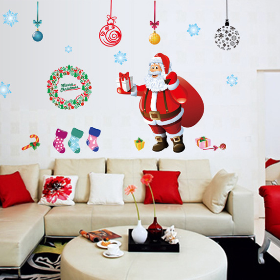 2018 Direct Selling Neymar Kindergarten School Shop Decorated The Christmas Tree Santa Claus Section Can Be Removed