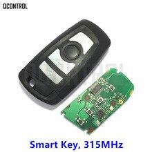 Q Управление автомобиль удаленного 4 Пуговицы Smart Key для BMW 1 3 5 7 серии CAS4 CAS4 + Управление сигнализации частота 315 мГц