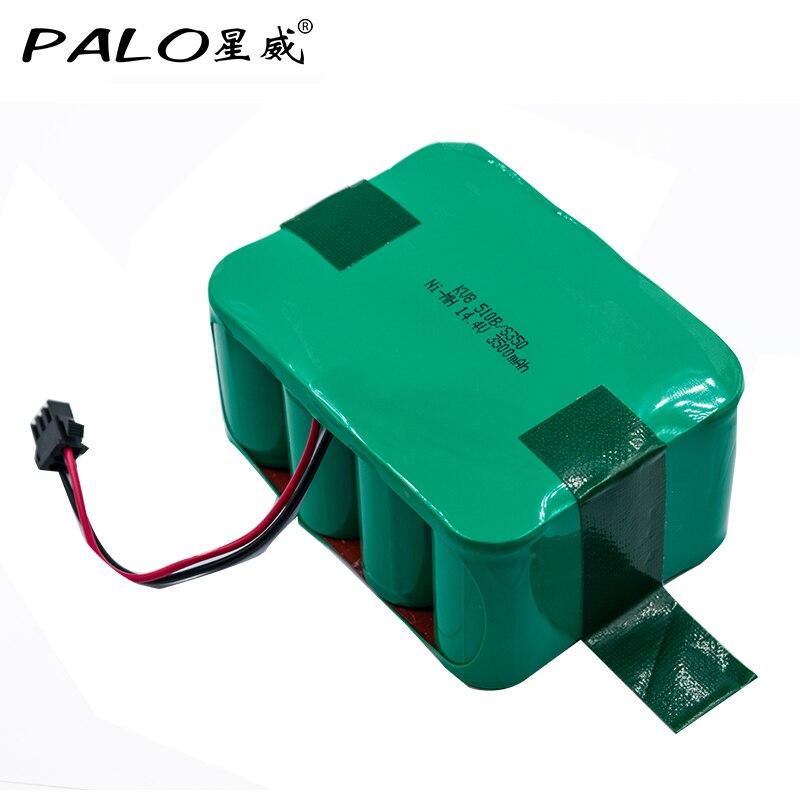 Palo 14.4v 3500mAh Ni-MH Vacuum Cleaner battery for KV8 Cleanna XR210 XR510 series XR210A XR210B XR210C XR510A S350 Z520 S530 цена