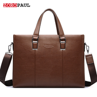 ZOROPAUL 2017 Men S Fashion Bags Handbags Men Famous Brands Tote Business Shoulder Top Handle Men