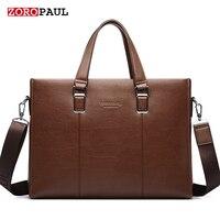 ZOROPAUL 2017 Men S Fashion Bags Handbags Men Famous Brands Tote Business Shoulder Top Handle Men