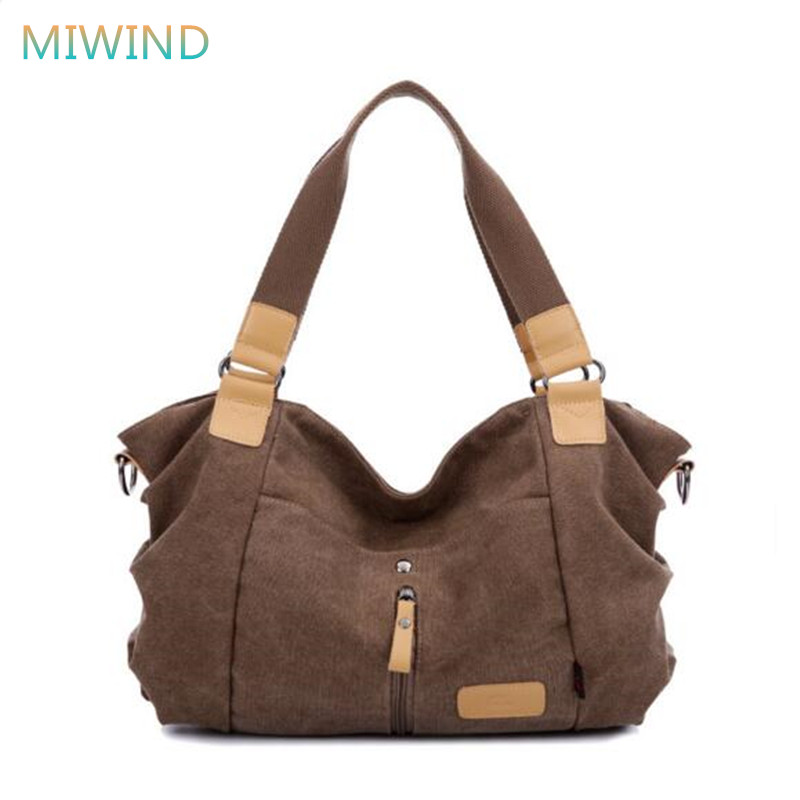 MIWIND 2017 Bolsa Feminina Women Handbag Canvas Women Messenger Bags Vintage Cross-body Shoulder Bag Bolsos Mujer CB122 2018 women messenger bags vintage cross body shoulder purse women bag bolsa feminina handbag bags custom picture bags purse tote