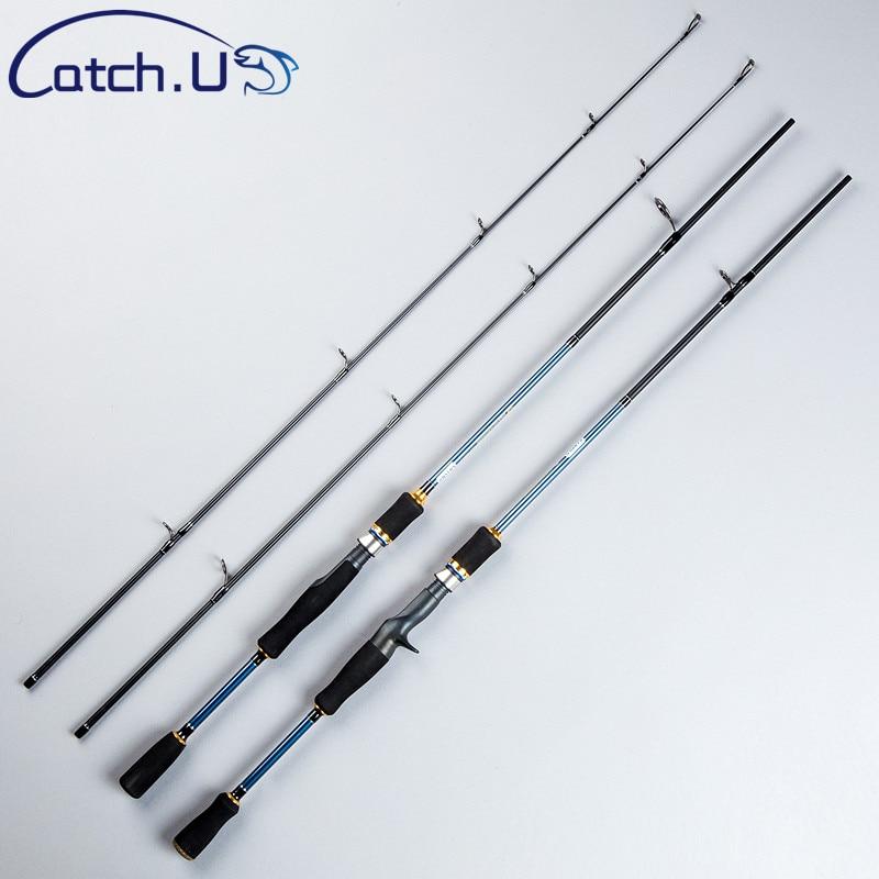 Catch.U Fishing Rod Spinning Rods Casting, 1.1mm Spinning Fishing Casting Rod Fast Action