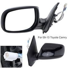Non-Folding Durable Left Side Mirror Hand LH for 09-13 Toyota Corolla Car Automobile Vehicle