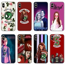 tv riverdale cheryl blossom For Apple iPhone 8 7 plus 6s 6 plus X XR XS Max SE 5s 5c 5 4s 4 TPU Soft phone cover case(China)