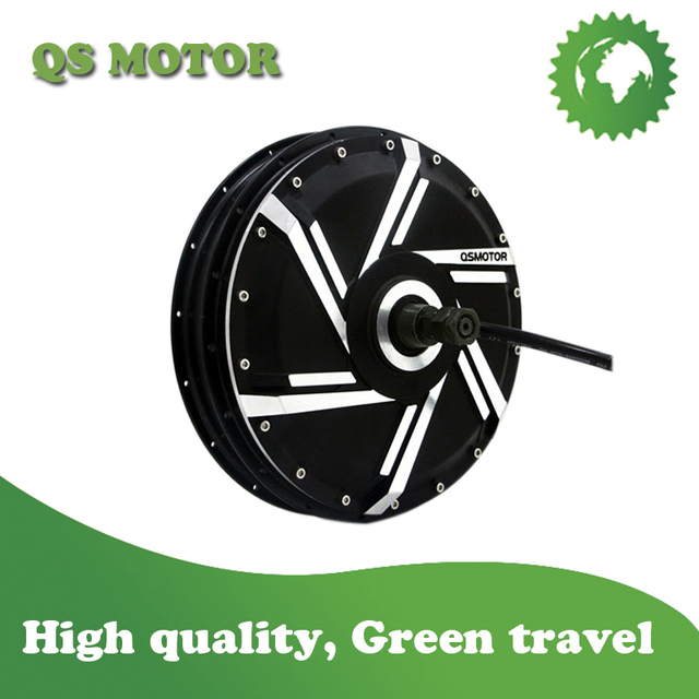 QS 273 8000W 50H V3 Spoke hub Motor for electric motorcycle