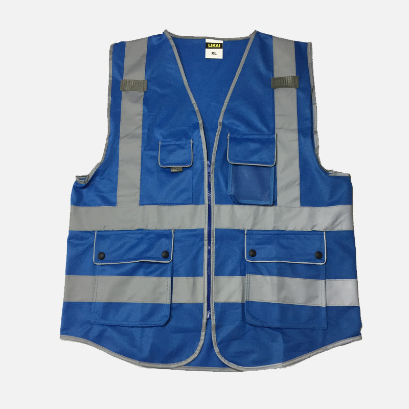 Blue safety vests reflective logo printing workwear safety waistcoats with reflector stripes New arrival car auto accessories rear trunk molding lid cover trim rear trunk trim for nissan sunny versa 2011 abs chrome 1pc per set