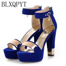 цены 2017 Time-limited Real Fashion Tenis Feminino Plus Big Size 33- 45 Sandals Ladies Lady Fashion Shoes High Heel Women Pumps T865