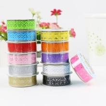 1 unidad conjunto de cintas Washi lote estilos cinta adhesiva japonés Kawaii encaje adhesivo Vintage Diy Scrapbooking Washitape pegatinas decorativas
