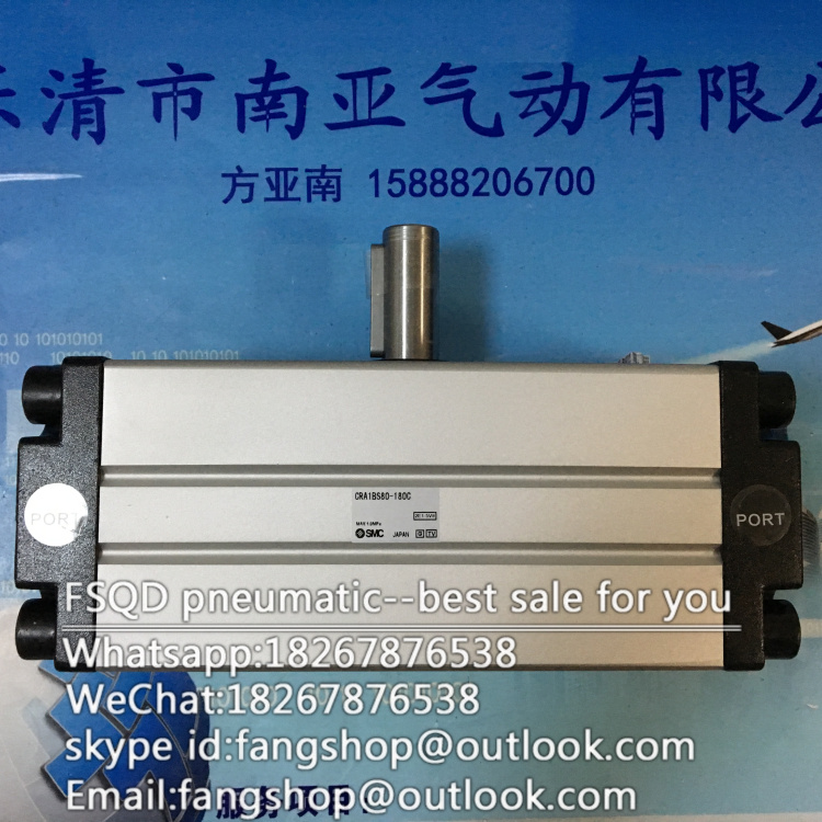 CRA1BS50-180C CDRA1BW63-180C CRA1BS80-180C CRA1BS100-180C SMC orginal rack and pinion type oscillating cylinder цена