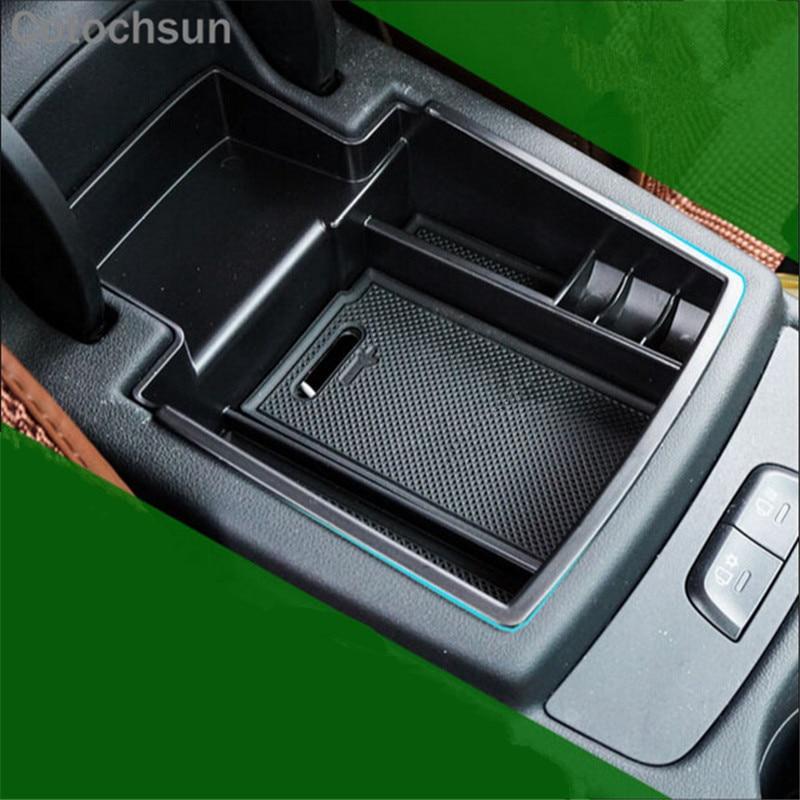 For Audi A4 B8 2008-2015// A5 8T 2010-2015 Inner Armrest Storage Box Glove Case