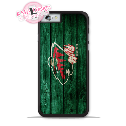 Minnesota Wild Ice Hockey Fans Phone Cover Case For Apple iPhone X 8 7 6 6s Plus 5 5s SE 5c 4 4s For iPod Touch