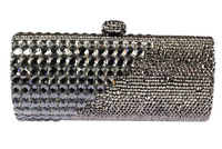 Small Silver Bags for Weddings Luxury Beaded Mother of The Bride Clutch Bags Wholesale Discount Black Crystal Evening Clutch UK