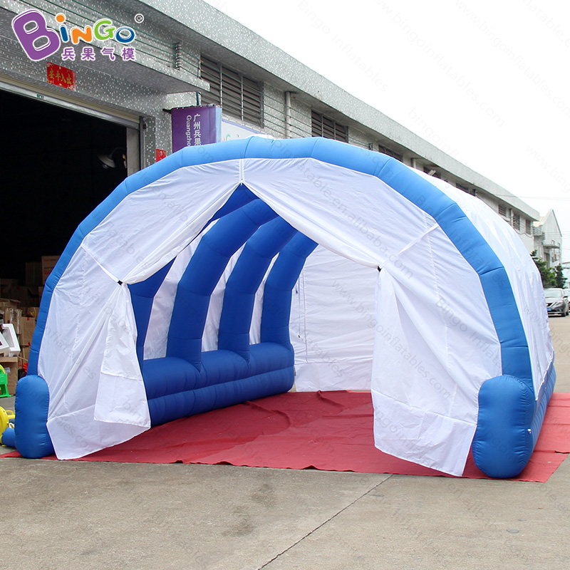 6m long inflatable tent tunnel / arch shape inflatable tunnel - toy tent цена