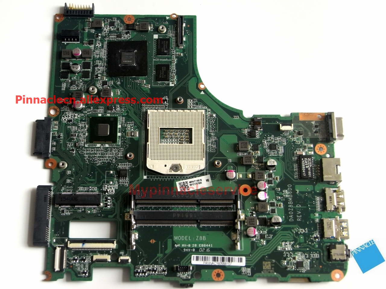 NBVAY11001 Motherboard for Acer  Aspire E5-472G Travelmate TMP246M DA0Z8BMB6D0 Z8BNBVAY11001 Motherboard for Acer  Aspire E5-472G Travelmate TMP246M DA0Z8BMB6D0 Z8B