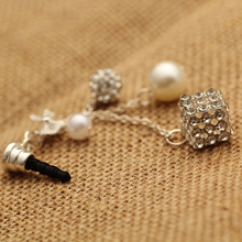 Fashion Pendant Earphone Dust Plug