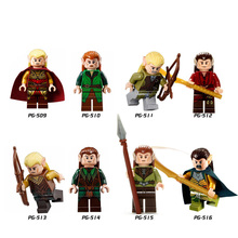 Legoings Building Blocks Lord of the Rings, Lord of the Rings, Hobbit Elf Prince, Middle Ages, Assembling, Foreign Trade Toys все цены