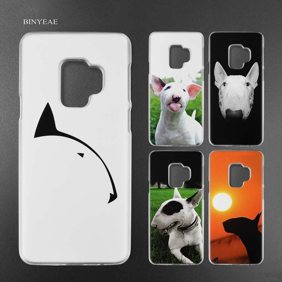 Binyeae бультерьер прозрачный чехол В виде ракушки для Samsung Galaxy S9 S8 плюс S7 Edge A8 2018